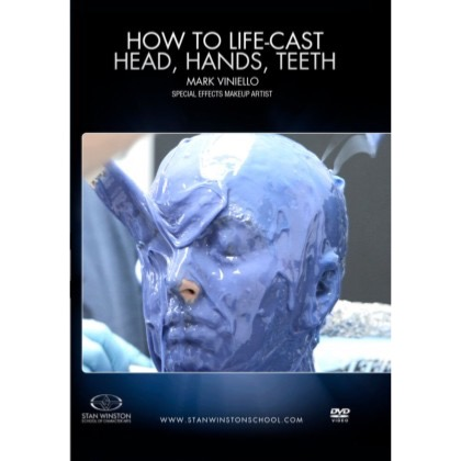 DVD Mark Viniello :  How To Life-Cast - Head, Hands & Teeth