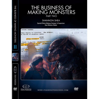 DVD Shannon Shea : The Business of Making Monsters - Part 2