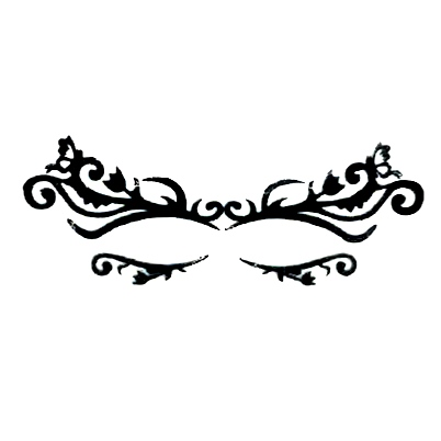 Autocollant Eye Mask Sticker 1
