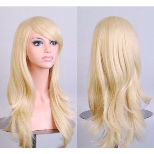 Perruque Blond Naturel cheveux longs et raides 70 cm
