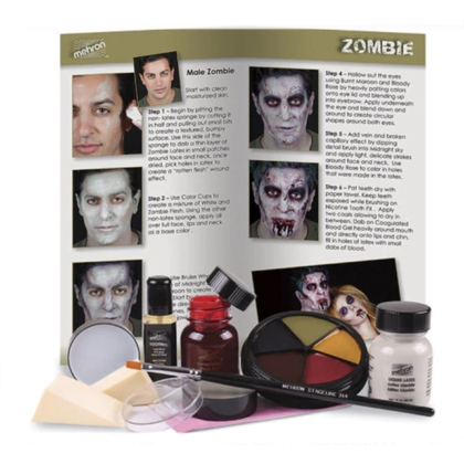 Kit de maquillage Zombie Character Makeup Kit Zombie