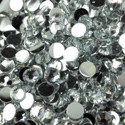 Strass 3mm - 10 000 pièces - Multiple Facets Clear
