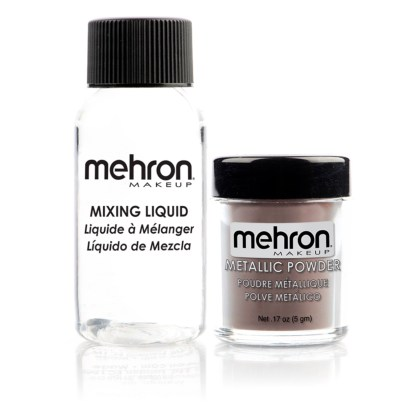 Metallic Powder - BRONZE (5g) + Liquide à mélanger 30ml