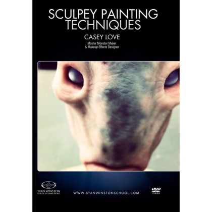 DVD Casey Love : Sculpey Painting Techniques