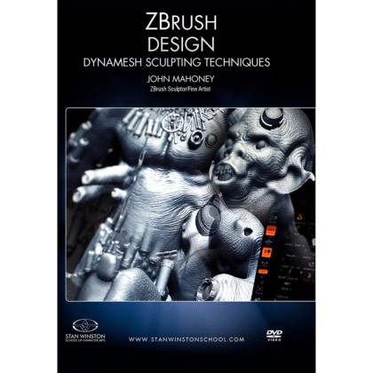 DVD John Mahoney : Zbrush Design - Dynamesh Sculpting Techniques