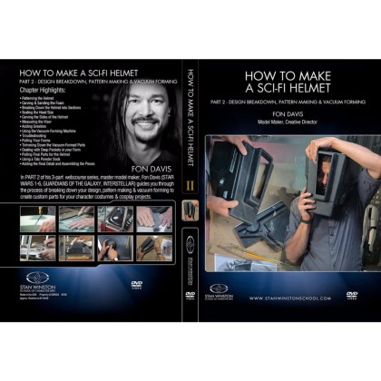 DVD Fon Davis : How to Make a Sci-Fi Helmet - Part 2