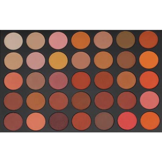 Palette de 35 Fards à Paupières de couleurs chaudes 340g