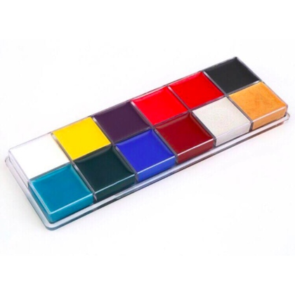 Fards Gras - Palette 12 couleurs 55g