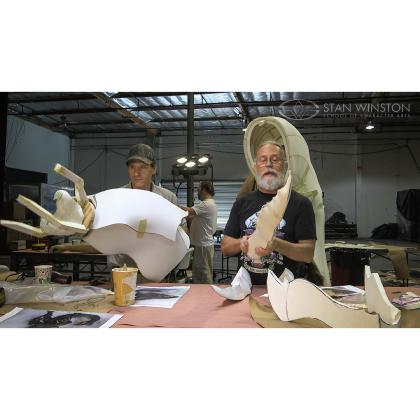 DVD Bill Bryan & Ted Haines : How to fabricate a monster suit. Part 2