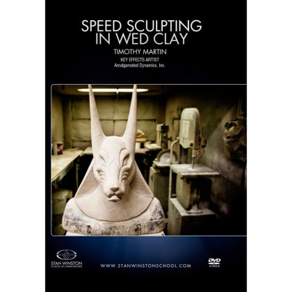 DVD Tim Martin : Speed Sculpting In WED Clay