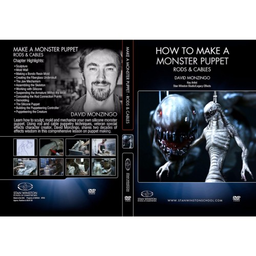 DVD David Monzingo : How To Make A Monster Puppet - Rods & Cables