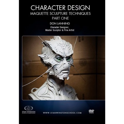 DVD Don Lanning : Character Design - Maquette Sculpture Techniques Part 1
