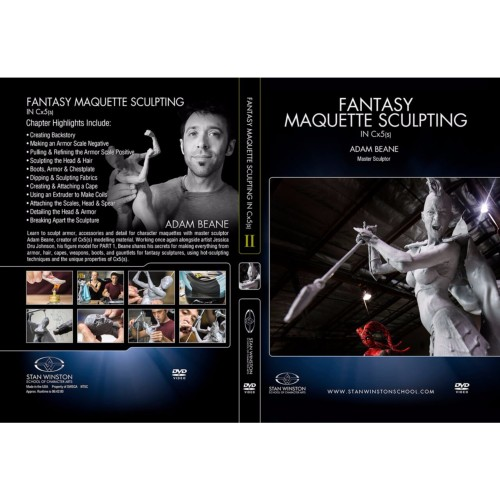 DVD Adam Beane : Fantasy Maquette Sculpting