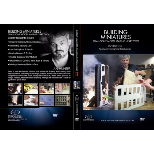 DVD Ian Hunter : Building Miniatures: Small-Scale Model Making - Part 2