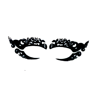 Autocollant Eye Mask Sticker 24