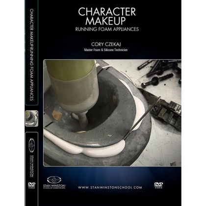 DVD Cory Czekaj : Character Makeup - Running Foam Appliances