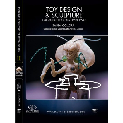 DVD Sandy Collora : Toy Design & Sculpture for Action Figures & Collectibles - Part 2
