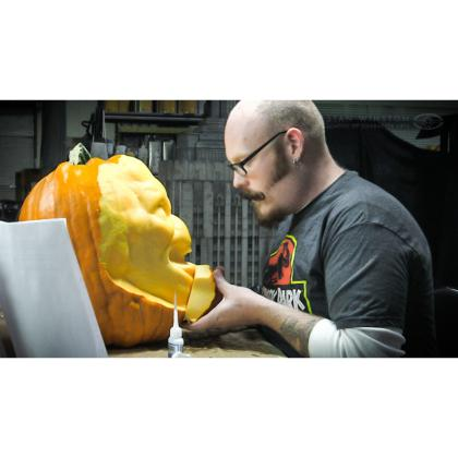 DVD Andy Bergholtz : 3D Pumpkin Carving