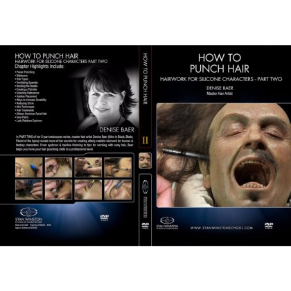 DVD Denise Baer : How to Punch Hair - Part 2