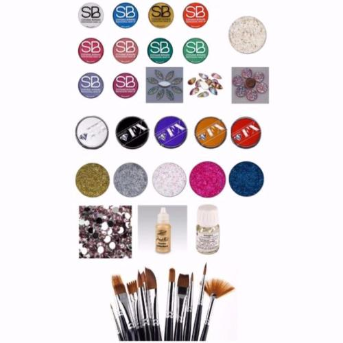 Kit n°3 - Kit Professionnel de face painting