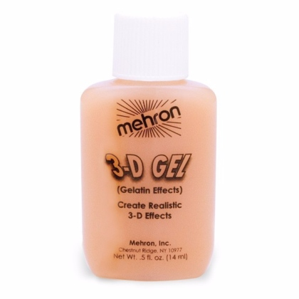 3-D Gel Fleshtone Gélatine Couleur Chair 0.5oz (15ml)