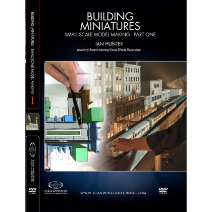 DVD Ian Hunter : Building Miniatures: Small-Scale Model Making - Part 1
