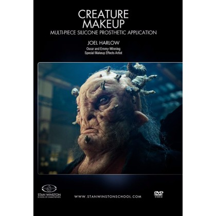 DVD Joel Harlow : Creature Makeup - Multi-Piece Silicone Prosthetic Application