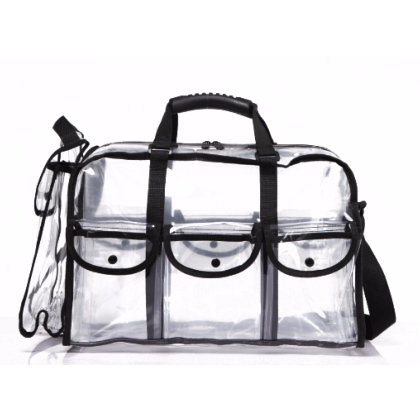 Grand Sac de Maquillage en PVC Transparent