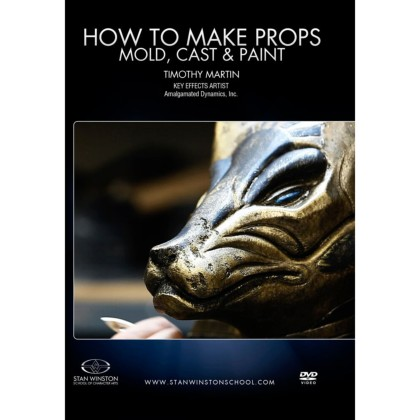 DVD Tim Martin : How To Make Creature Props - Mold, Cast & Paint