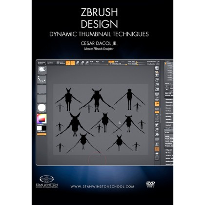 DVD Cesar Dacol Jr. : Zbrush Design - Dynamic Thumbnail Techniques