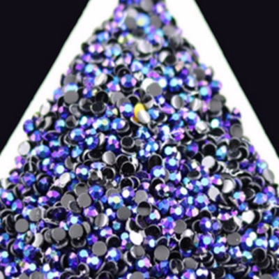 Strass 2mm AB Black Magic x10000