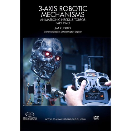 DVD Jim Kundig : 3-Axis Robotic Mechanisms - Animatronic Necks & Torsos - Pt.2