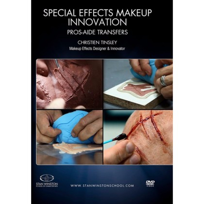 DVD Christien Tinsley : Special Effects Makeup Innovation - Pros-Aide Transfers
