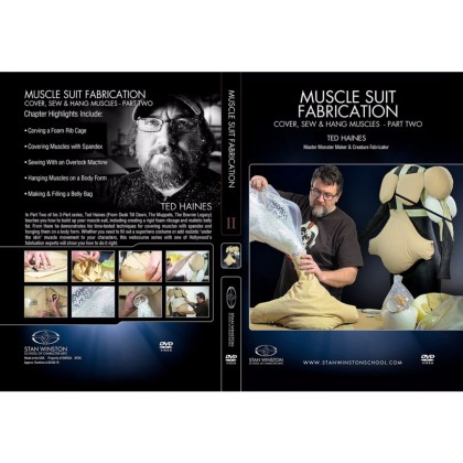 DVD Ted Haines : Muscle Suit Fabrication Part 2 - Cover, Sew & Hang Muscles
