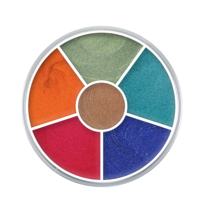 Palette de 6 Fards gras Cream Color Circle Interferenz n°2 30g