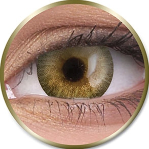 Lentilles Natural 14,2mm - 1 Mois - Golden Brown