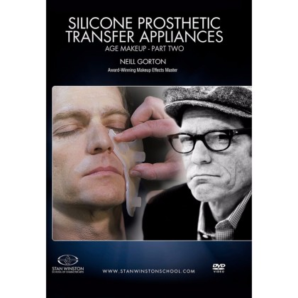 DVD Neill Gorton : Silicone Prosthetic Transfer Appliances: Age Makeup - Part 2