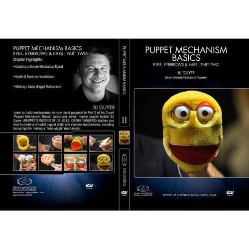 DVD BJ Guyer : Puppet Mechanism Basics: Eyes, Eyebrows, Ears - Part 2