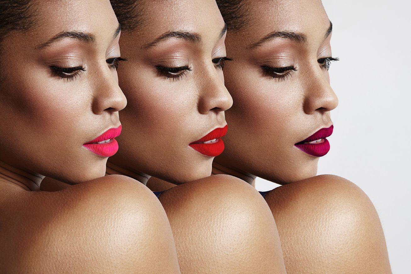 ... bordeaux, ou rose violacé + une couleur plus claire au centre de vos  lèvres (pour cette étape, utilisez un anticerne mate ou une nacre blanche,  ... b38503b2c24c