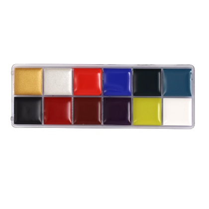 Fards Gras Palette 2018 : 12 couleurs 55g