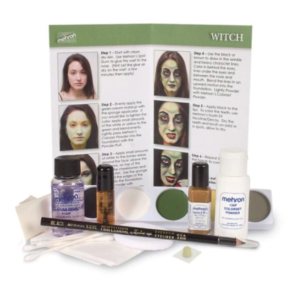 Kit de maquillage Sorcière Character Makeup Kit Witch