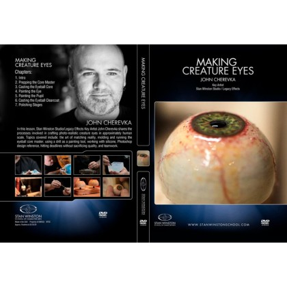 DVD John Cherevka : Making Creature Eyes