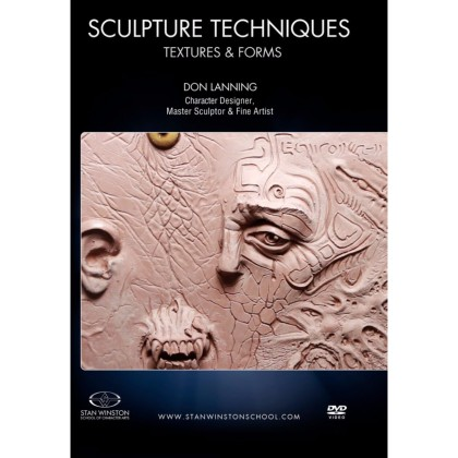 DVD Don Lanning : Sculpture Techniques: Textures & Forms
