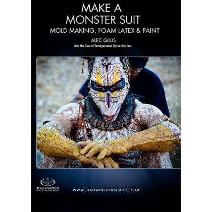 DVD Alec Gillis : Make a Monster Suit - Moldmaking, Foam Latex & Paint