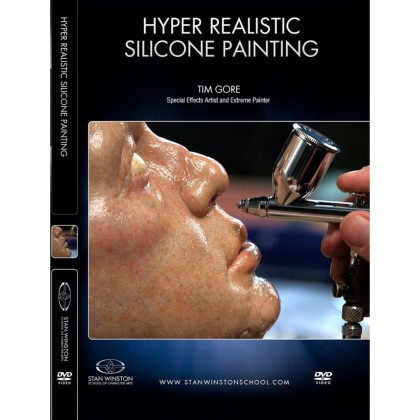 DVD Tim Gore : Hyper-Realistic Silicone Painting