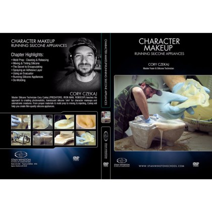 DVD Cory Czekaj : Character Makeup - Running Silicone Appliances