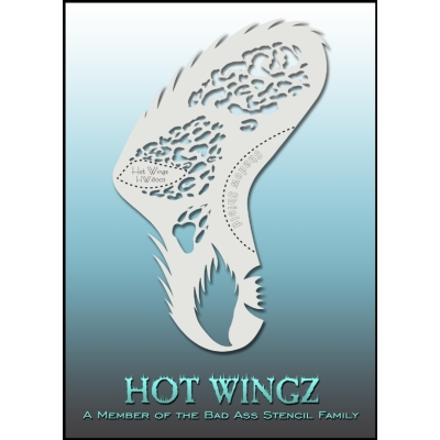 Pochoirs Hot Wings 8002