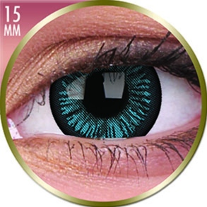 Lentilles Big Eyes 15mm - 3 mois - Beautiful Blue