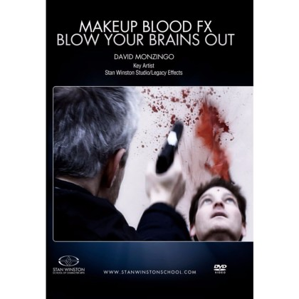DVD David Monzingo : Makeup Blood FX - Blow Your Brains Out