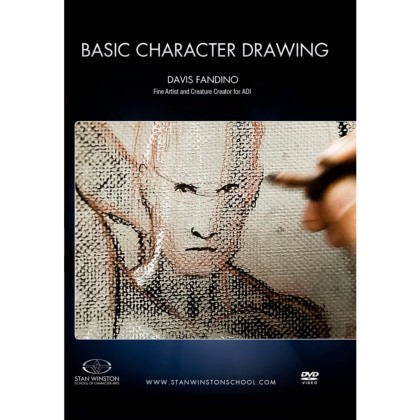 DVD Davis Fandino : Basic Character Drawing